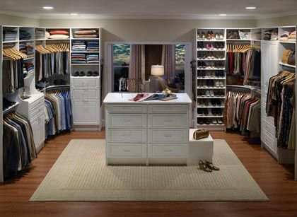 Custom closets, garages, and storage solutions